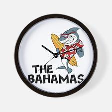 The Bahamas Wall Clock
