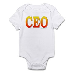CEO - Chief Executive Officer Infant Bodysuit