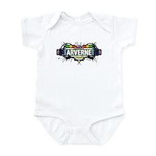 Arverne (White) Infant Bodysuit