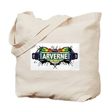 Arverne (White) Tote Bag