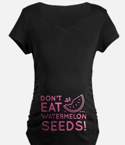 Watermelon Seeds Maternity T-Shirt