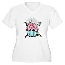 Cupcake & Utensils T-Shirt