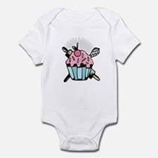 Pretty Cupcake Infant Bodysuit