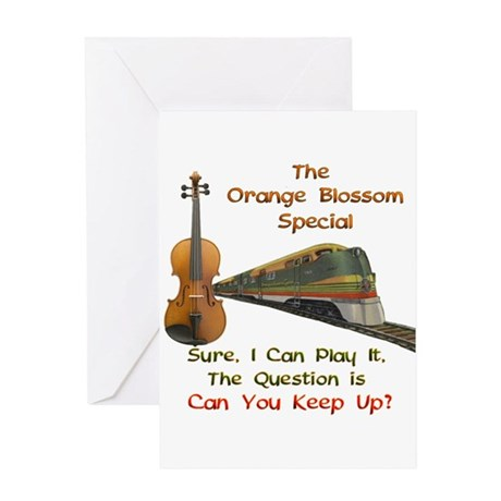 Orange Blossom Special--Keep Greeting Card