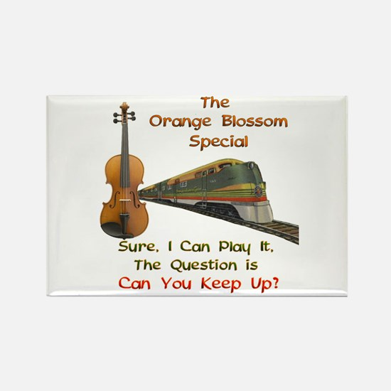 Orange Blossom Special--Keep Rectangle Magnet