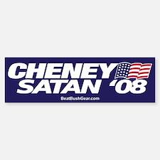 """Cheney-Satan '08"" Bumper Bumper Bumper Sticker"