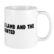 Mary had a little lamb and th Mug
