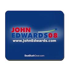"""John Edwards 2008"" Mousepad"