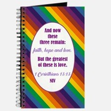 1 CORINTHIANS 13:13 Journal