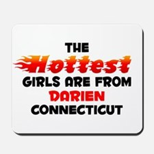 Hot Girls: Darien, CT Mousepad