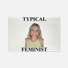Typical Feminist Rectangle Magnet