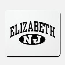 Elizabeth New Jersey Mousepad