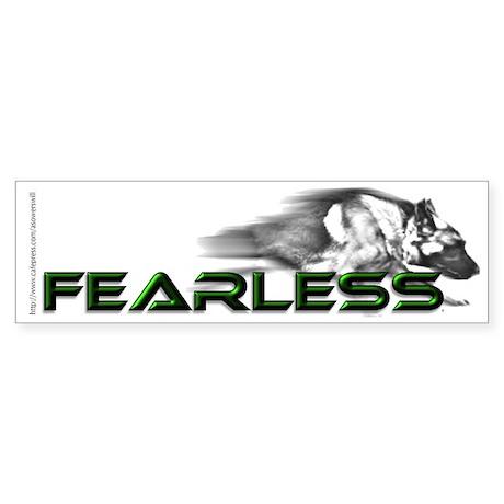 Fearless - GSD Bumper Sticker