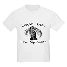 lovemelovemygoats T-Shirt
