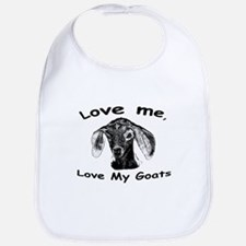 Unique Goat t Bib