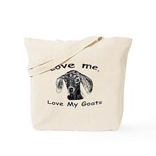 Cute Dairy goat Tote Bag