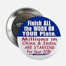 Anti JOB OUTSOURCING Button