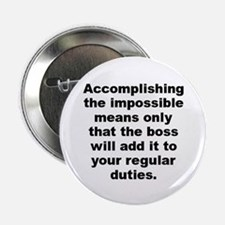 "Doug larson quote 2.25"" Button"