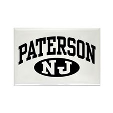 Paterson New Jersey Rectangle Magnet