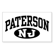 Paterson New Jersey Rectangle Decal