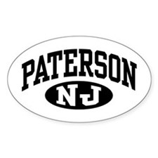 Paterson New Jersey Oval Decal