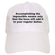 Doug larson quotation Baseball Cap