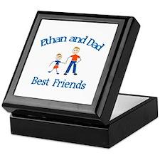 Ethan & Dad - Best Friends  Keepsake Box
