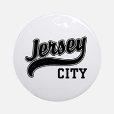 Jersey City New Jersey Ornament (Round)