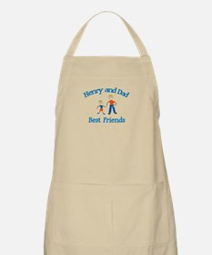 Henry & Dad - Best Friends  BBQ Apron
