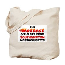 Hot Girls: Southampton, MA Tote Bag