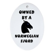 Owned by a Fjord Keepsake (Oval)