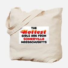 Hot Girls: Somerville, MA Tote Bag