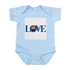 LOVE Infant Creeper