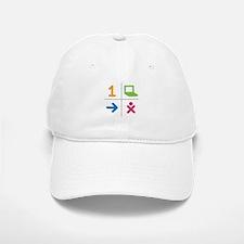 4 Square Logo No Text Baseball Baseball Cap