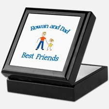 Rowan & Dad - Best Friends Keepsake Box