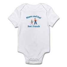Mason & Dad - Best Friends  Infant Bodysuit