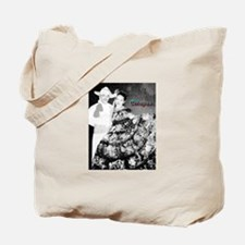 Chiapas Couple Charcoal Sketch Tote Bag