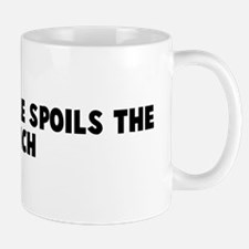 One bad apple spoils the bunc Mug