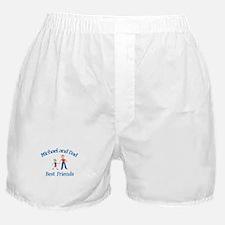 Michael & Dad - Best Friends  Boxer Shorts