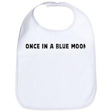 Once in a blue moon Bib