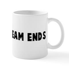 On your beam ends Mug