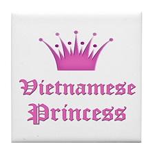 Vietnamese Princess Tile Coaster