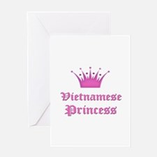 Vietnamese Princess Greeting Card