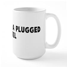 Not worth a plugged nickel Mug