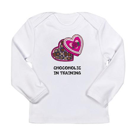 CHOCOHOLIC IN TRAINING Long Sleeve T-Shirt