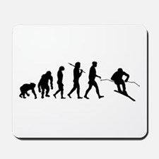 Downhill Skiing Mousepad