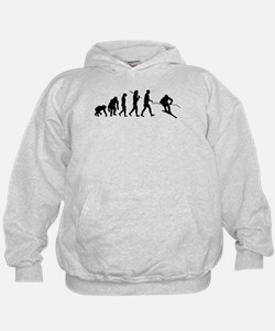Downhill Skiing Hoody