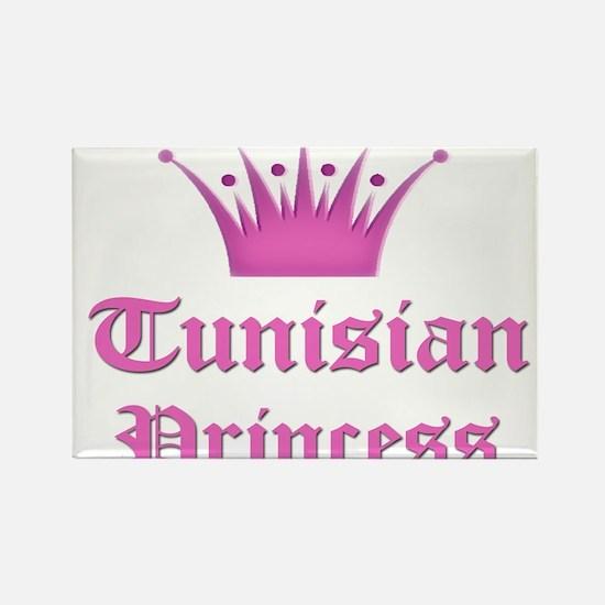 Tunisian Princess Rectangle Magnet