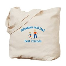 Sebastian & Dad - Best Friend Tote Bag