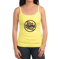 Barack Obama 2008 Jr. Spaghetti Tank Top